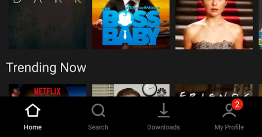 Netflix is testing a redesigned Android app with a bottom bar UI