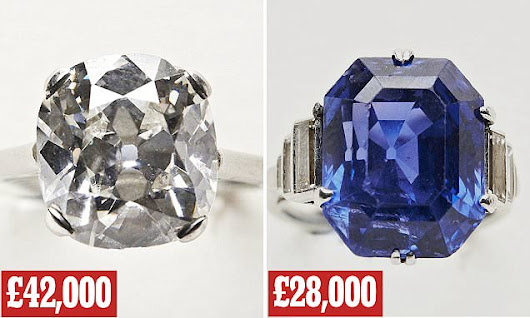 Man discovers FOUR carat diamond Cartier ring among charity shop items