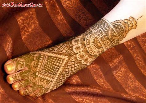 Beautiful Bridal Mehndi Designs for Legs   Stylish Dulhan