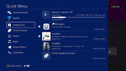 PS4 System Update 5.05 Out Now, Here's What It Does