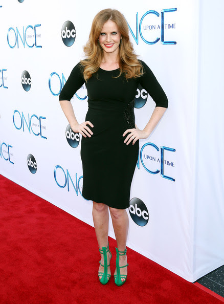 Actress Rebecca Mader attends the Screening of ABC's 'Once Upon A Time' Season 4 at the El Capitan Theatre on September 21, 2014 in Hollywood, California.