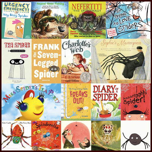 Children's Books About Spiders