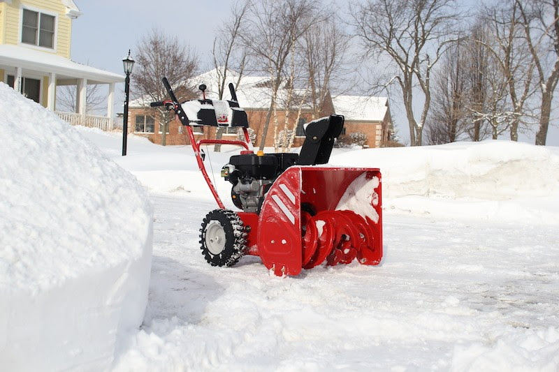 Image result for Snow in the Chicago snow blower