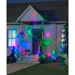 Gemmy 224055 Red, Green, Blue Fire and Ice Projection Light