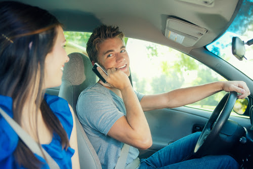 The Increase in Cellphone Use Seems to Be the Cause for an Increase in Crashes and Insurance Rates