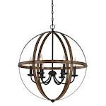 WestinghouseLighting 6333600 6 Light Stella Mira Indoor Chandelier
