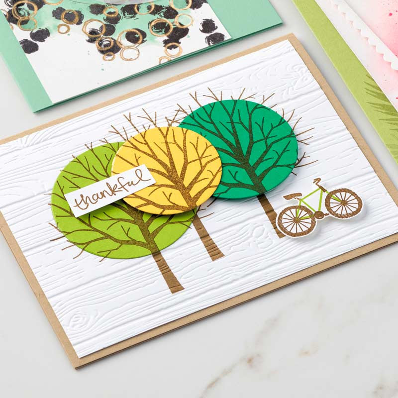 Sheltering Tree Photopolymer Stamp Set by Stampin' Up!