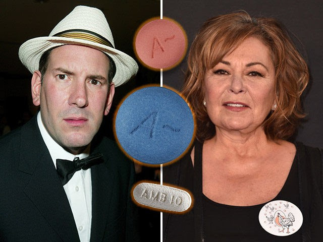 Matt Drudge, editor of The Drudge Report, condemned the maker of Ambien for mocking Roseanne Barr, who claimed to have posted an offensive tweet while using the drug.