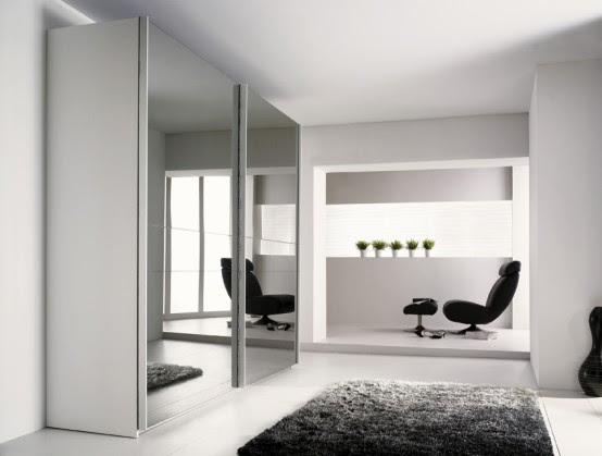 Modern Wardrobe With Refined Door Design