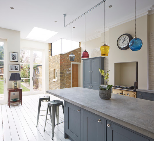 Kensal Rise Kitchen extension - Industrial - Kitchen - london - by Elgin & Ellis Limited