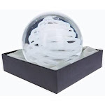 Dynasty Gallery - Glass Large Paperweight - Hurrican Glow