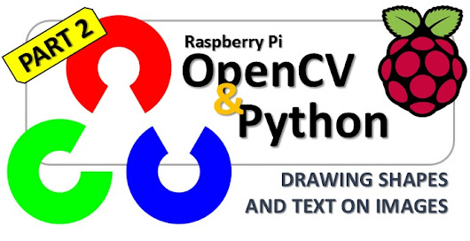 OpenCV & Python – Drawing shapes and text on images