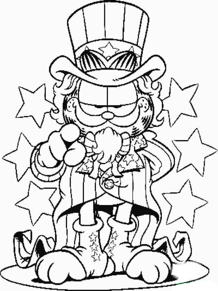 garfield coloring pages 22