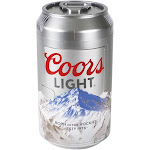 Koolatron CL06 Official Coors Light Design 8 Can AC/DC Electric Mini Cooler by VM Express