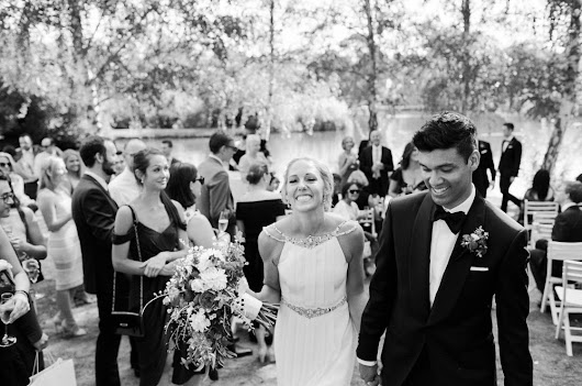 Lakeside Luxe: Danae & Saad's Daylesford Wedding