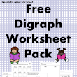 Digraph Worksheets – Free th, ch and sh digraph worksheets!