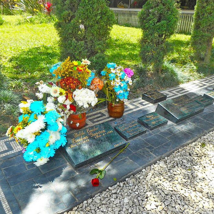Pablo Escobar Tomb