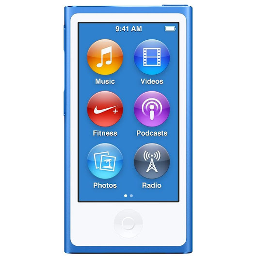 Apple iPod Nano 16gb, Albastru / Nou/Sigilat/Factura/Garantie