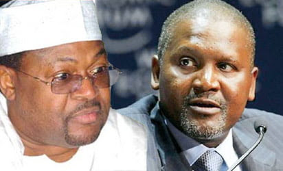 Mike Adenuga and dangote