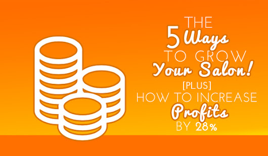 The 5 Ways to Grow Your Salon: How to Increase Profits by 28% - Salon Business Secrets