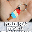 Perler Bead Popsicle Keychain Charm Tutorial