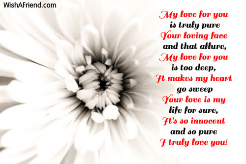 My Love And You True Love Poem