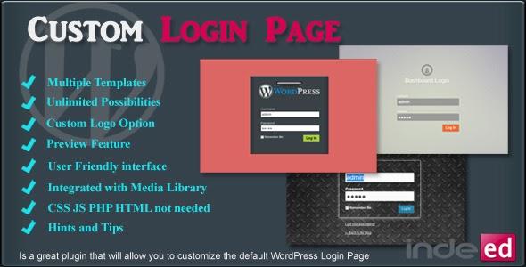Plugin free download: Download Indeed Custom Login Page