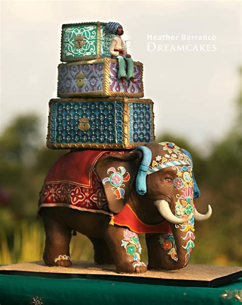 Edible Elephants for Indian Weddings   Imbue You I Do