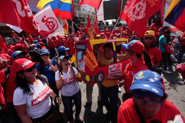 Caracas nuevamente es el epicentro de la alegría revolucionaria