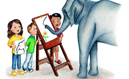 Amazing Painting Elephants! – Molly and the Magic Suitcase