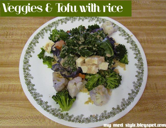 Whole Food Recipe: Tofu & Rice