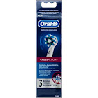 Oral B Replacement Brush Heads, CrossAction - 3 heads