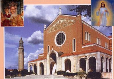 Risultati immagini per immagini santuario madonna di rosa