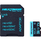 Nextbase 16GB U1 SDHC microSD Card - NBDVRS2SD16GBU1