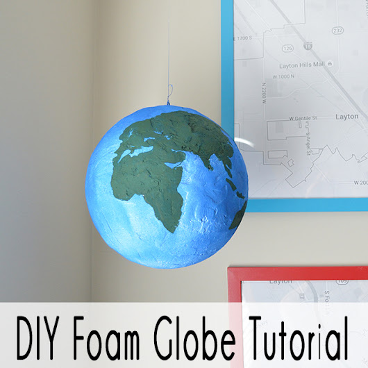 Kids DIY Globe - Our Thrifty Ideas