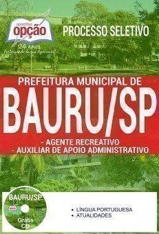 Apostila Prefeitura de Bauru (Agente Recreativo) Processo Seletivo 2017