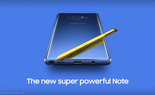 Leaked Samsung Galaxy Note 9 Video Confirms A 512GB Model | Tech My Money