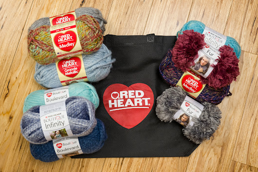 Wonderful Red Heart Yarn Medley