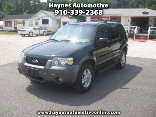 Used 2005 Ford Escape XLT 4WD for Sale in Fayetteville NC 28303 Haynes Automotive