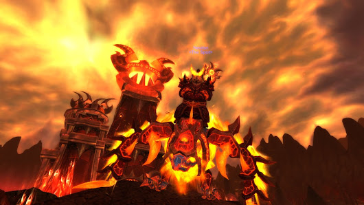 Flame On: Leveling Legion as Fire