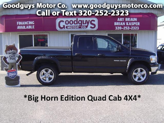 Used 2007 Dodge Ram 1500 SLT Big Horn Edition for Sale in st cloud MN 56301 Goodguys Motor Co.
