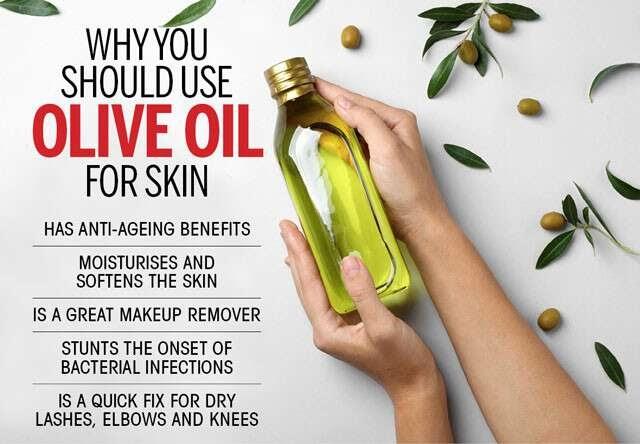 disadvantages of olive oil for skin