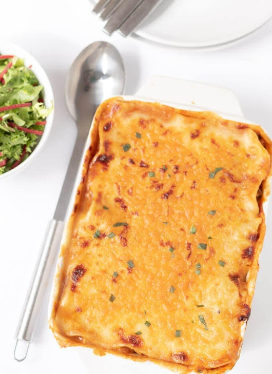 Easy Homemade Quorn Lasagne - Neils Healthy Meals