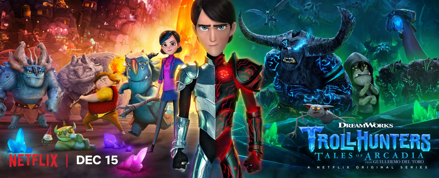 Extra Large Movie Poster Image for Trollhunters (#16 of 18)