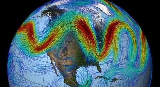 Ondas atmosféricas gigantescas podem explicar extremos climáticos