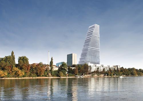 Roche Tower 1 by Herzog & de Meuron