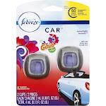 Febreze Car Air Freshener, Moonlight Breeze, Vent Clips - 2 pack, 0.06 fl oz clips