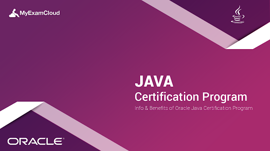 Java Certification Program - MyExamCloud