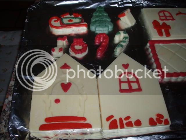 Casetta Di Natale Da Colorare : Bimbylandia: casetta di babbo natale tm31
