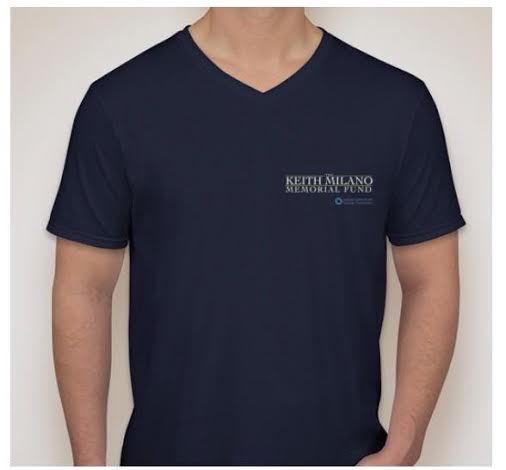 The Keith Milano t-shirt front